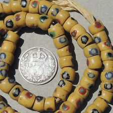 88 small old antique venetian fancy beads african trade #1641