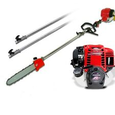 GX35 Long Reach Chainsaw telescopic 4 stokes pruner with 2extend pole trimmer