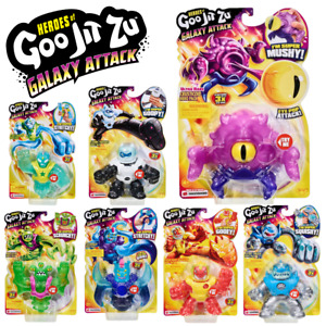 Heroes of Goo Jit Zu: Galaxy Attack Stretchy Action Figures - Character Options