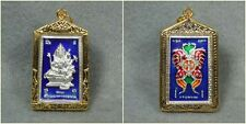 Magic Butterfly Phra Prom Brahma Kruba Krissana Thai Amulet Talisman Pendant