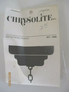Dollhouse miniatures 1:12 Chrysolite Ceiling Canopy Assembly Kit  #109X FS