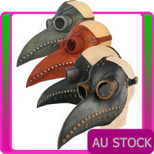Steampunk Bird Masker Plague Doctor Horror Mask Carnival Cosplay Party Costume