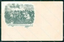 Militari 49º Reggimento Fanteria Villafranca ABRASA cartolina XF4983