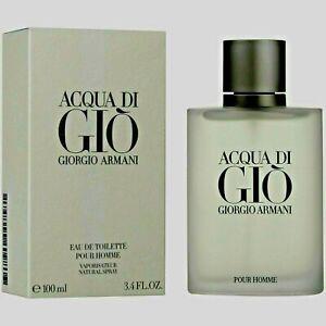 Giorgio Armani Acqua Di Gio 3.4oz / 100ml Men's Eau de Toilette Spray