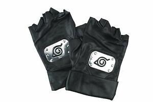 Naruto Handschuhe von Kakashi Hatake mit Konoha für Cosplay