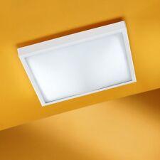 Plafoniera quadrata in Vetro, 2x60W attacco E27