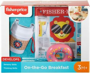 Fisher-Price- On the Go Breakfast. Helps Baby Learn Thinking & Sensory Skills