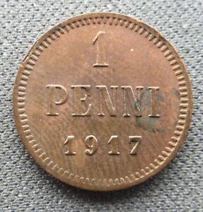 Finland 1 penni  1917