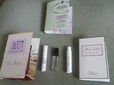 3x PROFUMI Alien edt, Miss Dior Blooming Bouquet, Prada Infusions Oeillet NUOVO