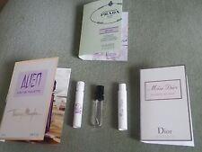 Perfumes Alien 3x EDT, Miss Dior Blooming ramo, Prada perfusiones OEILLET Nuevo