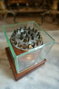 """Antique LS SMITH'S SMALL LETTER PUNCH SET 1/8"""" w/Presentation Case"""