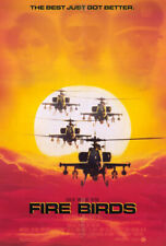 Fire Birds (1990) original movie poster - single-sided - rolled