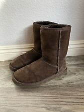 UGG Australia Classic Short II Boots Chocolate Size 7