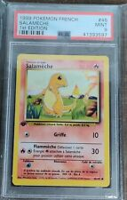 1999 Pokemon French Charmander (Salameche) 1st Edition PSA 9 🔥