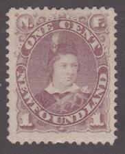 Newfoundland 1880-96 #41 Edward, Prince of Wales MH F