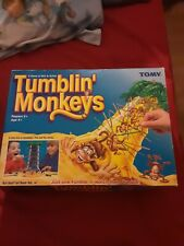 Vintage Tomy Tumblin' Monkeys Game Toy Family Board Game - 100% Complete