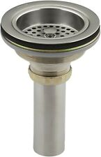 Kohler 8801-VS DuoStrainer Sink Strainer Vibrant Stainless Steel-NEW-OPENED BOX