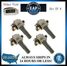 For 9-2X Baja Forester Impreza Legacy Outback EJ255 EJ257 (4x) Ignition Coil New