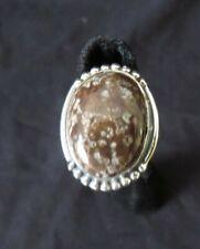Wildhorse Brown Bracca Jasper Ladies Ring