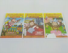 Curious George Sweet Dreams/ Sails With Pirates/ Goes To Birthday Party DVD Set