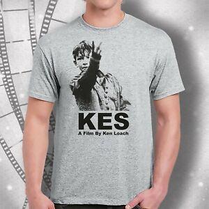 Kes Movie (1969) Mens  Billy Two Fingers  Billy Casper film T-shirt  Ken Loach