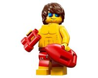 GENUINE LEGO MINIFIGURE SERIES 12 71007 LIFEGUARD