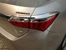 ABS Chrome Tail Light Trim For Toyota Corolla Altis 2014 2015 2016