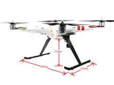 T Type Carbon Fiber Tall Landing Gear Skids for FPV Quadcopter Phantom 1 DIY