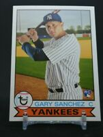 2016 Topps Archives Gary Sanchez Rookie Card RC #162 Yankees S32