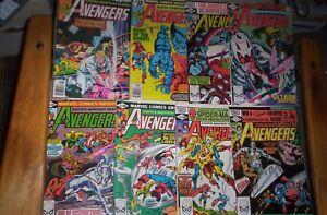 Avengers#177,178,199,202,207,208,214,215 1978-1982 GEORGE PEREZ ART