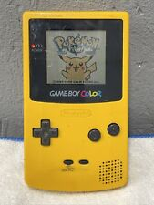 Nintendo Game Boy Color with Pokemon Yellow Special Pikachu Edition