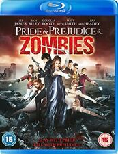 Pride and Prejudice and Zombies [Blu-ray] [2018] [DVD][Region 2]