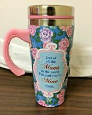 """REUSABLE STAINLESS STEEL """"OUT OF ALL THE MOMS.."""" THERMAL CUP, FREE SHIPPING"""