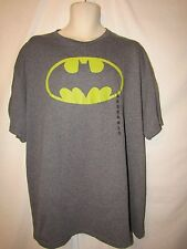mens batman t-shirt 2XL nwot classic logo gray