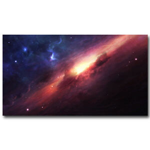 Fantasy Galaxy Milky Way Space Silk Poster Pictures 13x24 24x43inch