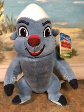 "DISNEY LION GUARD Stuffed Plush Bean-bag BUNGA Honey Badger Animal 6.5"" Toy NWT"