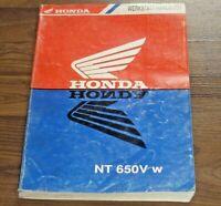 HONDA NT650V Deauville Tourer Motorrad 1998-2005 General WERKSTATT HANDBUCH