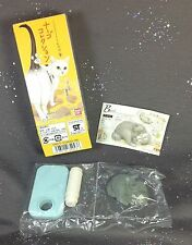 Neargo Seal Blue and White Cat Basil Figure #2 Collection 5 Bandai 2005 New