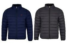 Mens Quilted Cushioned Funnel Neck Padded Lightweight Winter Jacket RRP �105