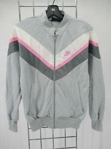 I9542 VTG Nike Full Zip Swoosh 70's Track Jacket Size M