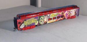 HO SCALE TRAIN MARVEL SPIDERMAN PASSENGER CAR GREEN GOBLIN