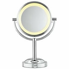 Conair Classique Double-Sided Lighted Makeup Mirror with 5x Magnification