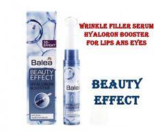 Balea Beauty Effect Wrinkle Filler Serum Lips Eyes Hyaluronic Acid Booster 10 ml