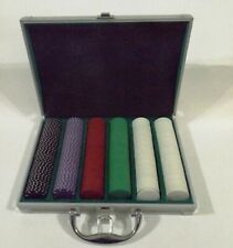 Poker Chip Set with Aluminum case - 300 Chips