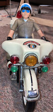 Vintage Police Highway Patrol MotorCycle Jumbo 1200 Sa-170 1984 Son Al Toys Read