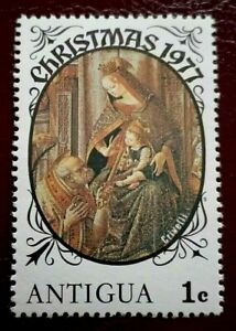 Antigua:1977 Christmas 1 C. Rare & Collectible Stamp.