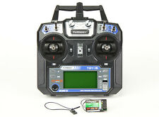 Turnigy TGY-i6 AFHDS Transmitter and 6CH Receiver (Mode 2) RC Plane Quad Heli