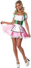 Bavarian BEERs ON ME Sexy Lady Oktoberfest Costume Dress Adult Large XL 10 12 14