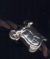 Ciondolo argentato per catena snake motocicletta