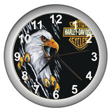 2021 Harley Davidson Eagle Motorcycle Wall Clock